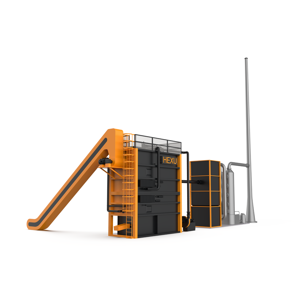 小型炭化气化互补式燃烧炉